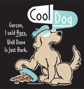 cool dog garcon black